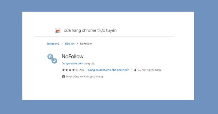 Sử dụng Add-on NoDoFollow để phân biệt DoFollow và NoFollow