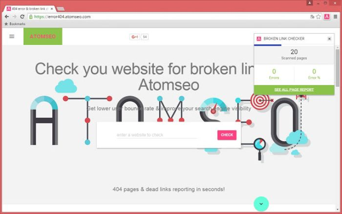 Sử dụng công cụ Broken Link Checker