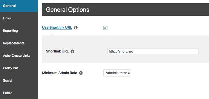 Plugin có tác dụng rút ngắn các URL