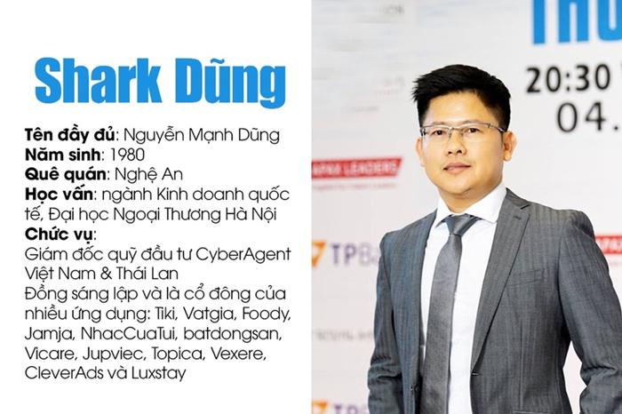 Thông tin về Shark Dzung.