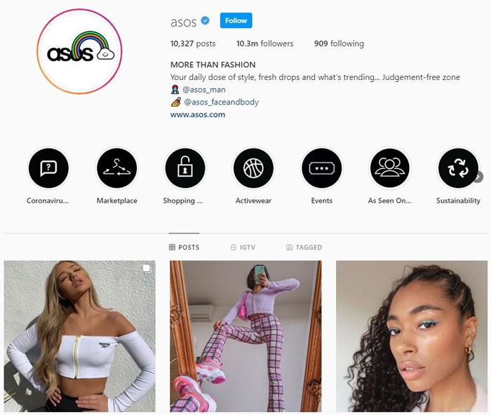 Cần tối ưu hóa profile trong tài khoản instagram